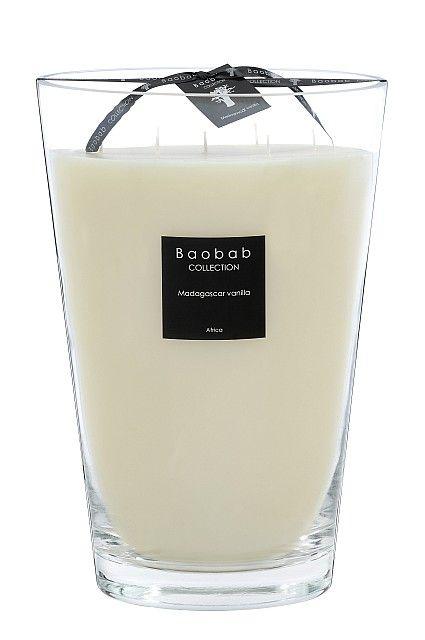 baobab maxi max duftkerze madagaskar vanille exklusive wohnaccessoires raumduft und duftkerzen. Black Bedroom Furniture Sets. Home Design Ideas