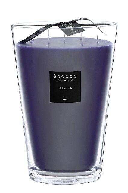 maxi max baobab duftkerze victoria falls exklusive wohnaccessoires raumduft und duftkerzen. Black Bedroom Furniture Sets. Home Design Ideas