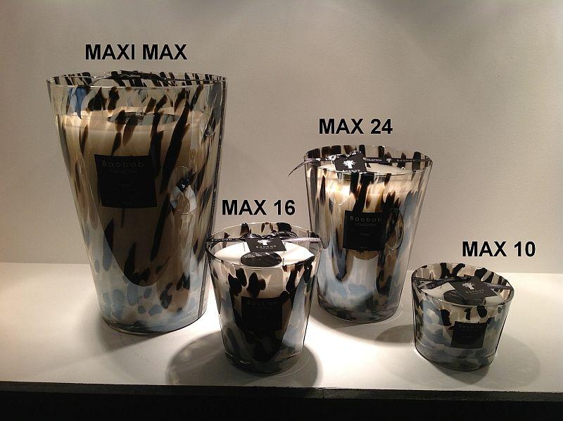 Baobab pearls black duftkerze max 10 exklusive for Exklusive wohnaccessoires