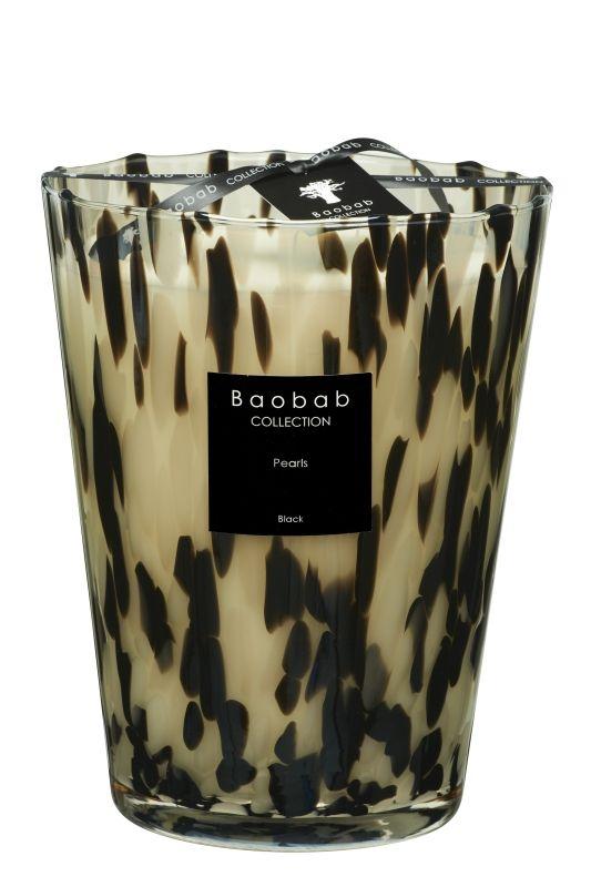 baobab pearls black duftkerze max 24 exklusive wohnaccessoires raumduft und duftkerzen. Black Bedroom Furniture Sets. Home Design Ideas