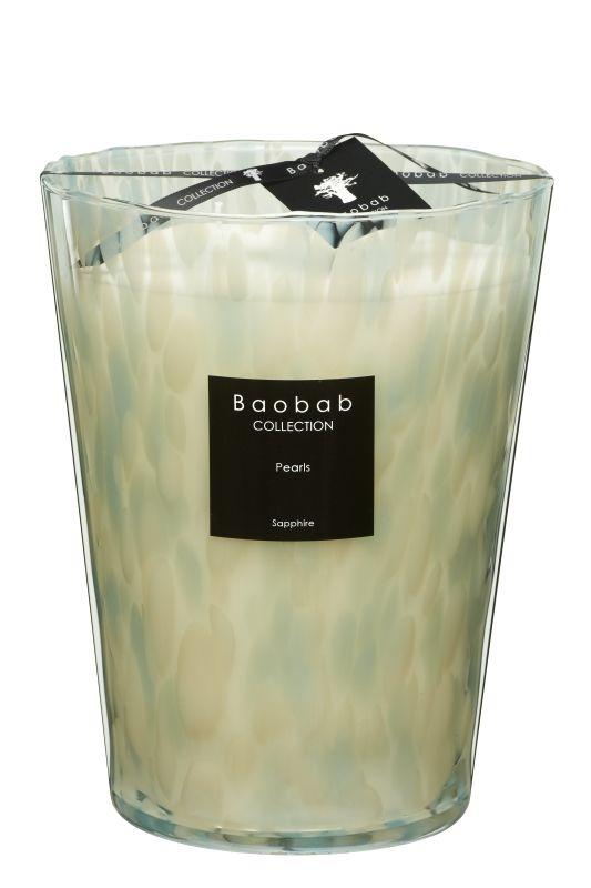 baobab pearls sapphire duftkerze max 24 exklusive wohnaccessoires raumduft und duftkerzen. Black Bedroom Furniture Sets. Home Design Ideas