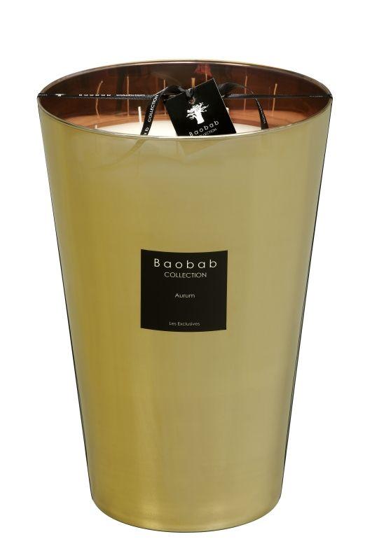baobab duftkerze aurum maxi max exklusive wohnaccessoires raumduft und duftkerzen. Black Bedroom Furniture Sets. Home Design Ideas
