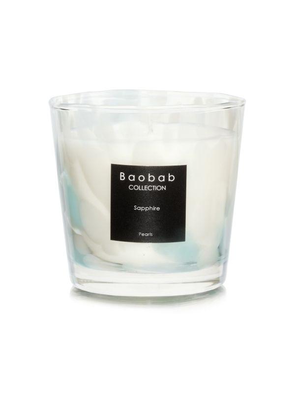 baobab pearls sapphire duftkerze max one exklusive wohnaccessoires raumduft und duftkerzen. Black Bedroom Furniture Sets. Home Design Ideas