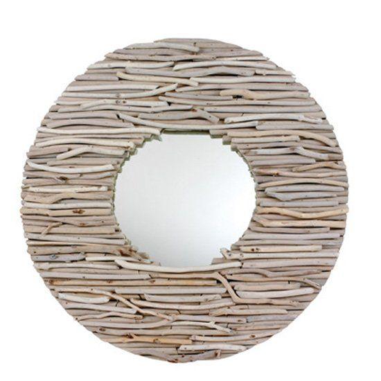bleu nature runder treibholz spiegel hublot exklusive. Black Bedroom Furniture Sets. Home Design Ideas