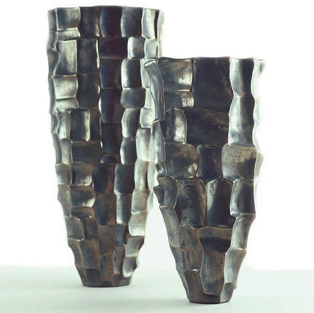 O living topf radica bronze h51 d24 exklusive for Exklusive wohnaccessoires