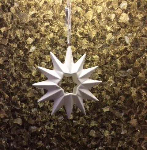 origami stern knochenporzellan 12 zacken exklusive. Black Bedroom Furniture Sets. Home Design Ideas