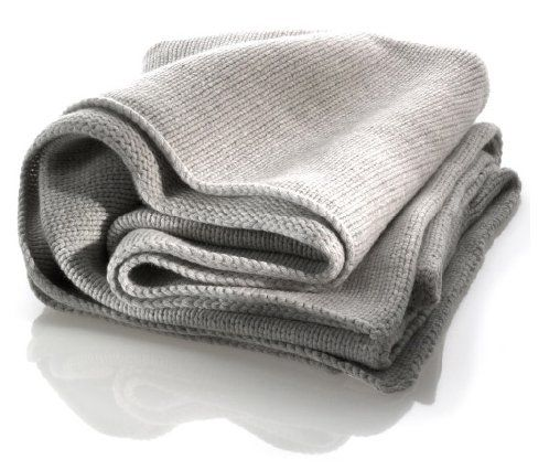 katrin leuze cashmere decke 130x170 cm grau - exklusive, Moderne deko