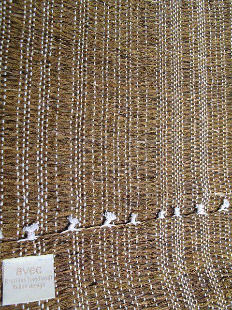Tischset Bahia Mono ruggine B35 L50