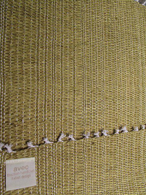 Tischset Bahia Mono zafferano B35 L50