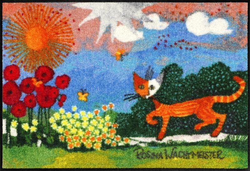 rosina wachtmeister fussmatte daisies 50x75cm exklusive wohnaccessoires raumduft und duftkerzen. Black Bedroom Furniture Sets. Home Design Ideas