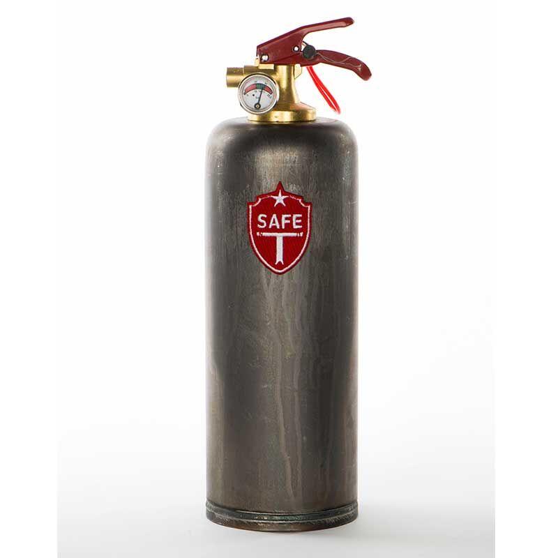 Bekannt SAFE-T Feuerlöscher Brut Vintage von DNC TAG WR23