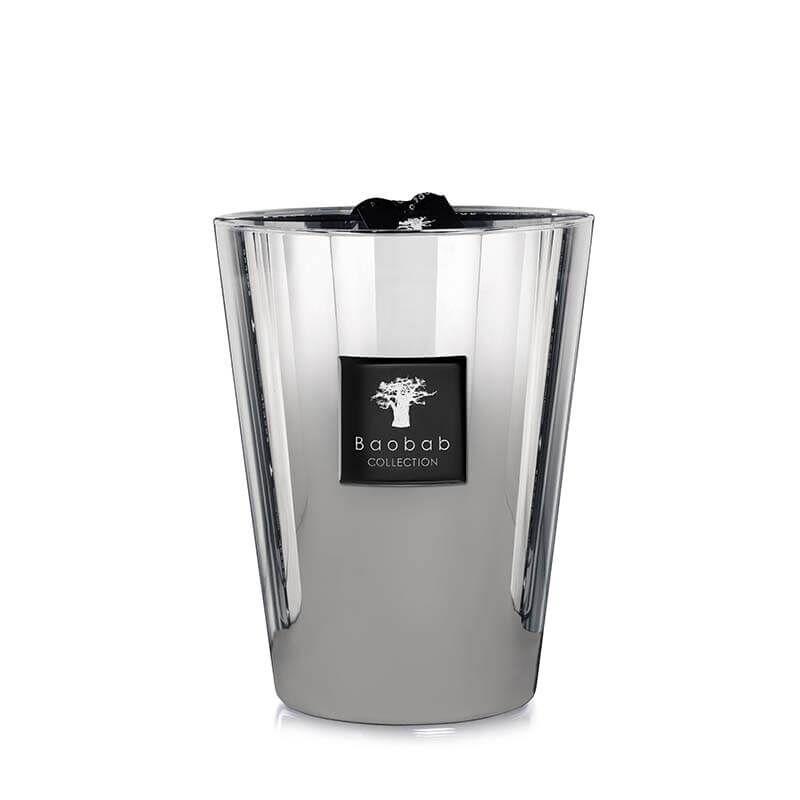 baobab duftkerze max 24 platinum white. Black Bedroom Furniture Sets. Home Design Ideas