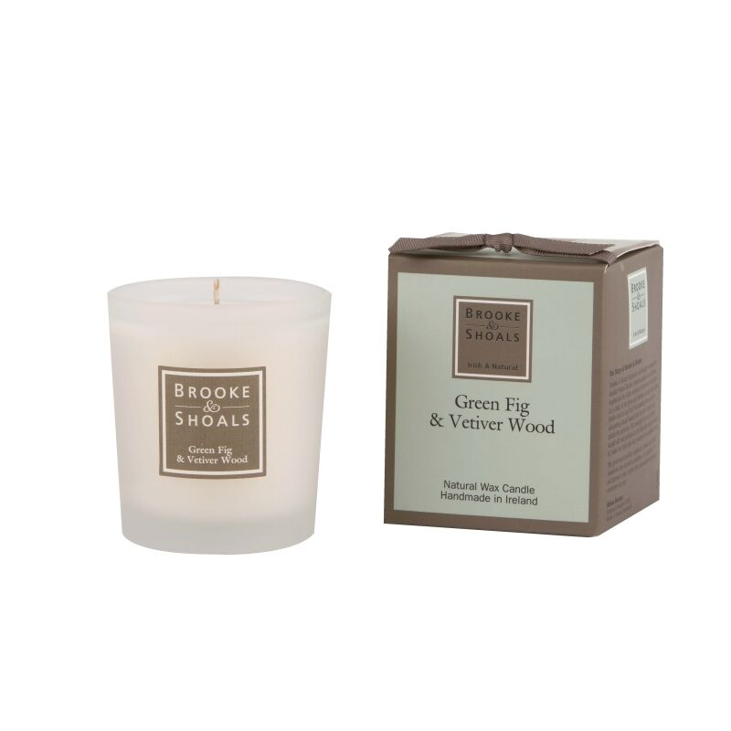 Brooke & Shoals Duftkerze Green Fig & Vetiver Wood