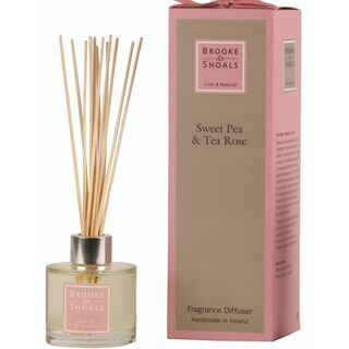 Brooke & Shoals Diffuser  Sweat Pea & Tea Rose