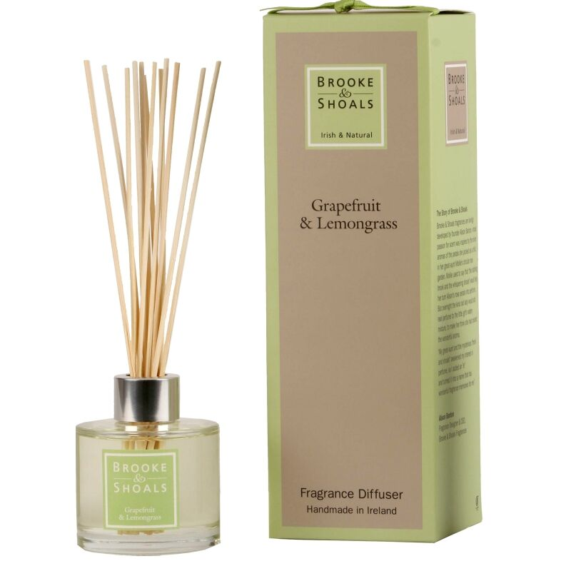 Brooke & Shoals Diffuser Grapefruit & Lemongrass