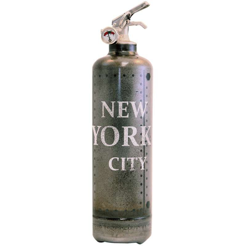 FIRE DESIGN Feuerlöscher Metal NYC black